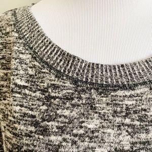 Knox Rose Sweaters - Knox Rose Heathered Raw Hem Sweater